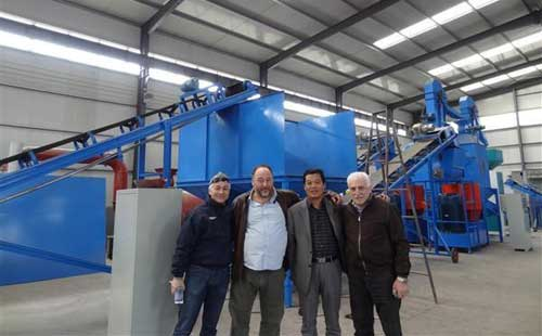 Ireland client ordered small mobile plant
