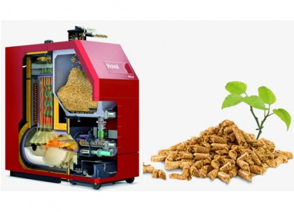 Review on the development of biomass pellet combustion boiler
