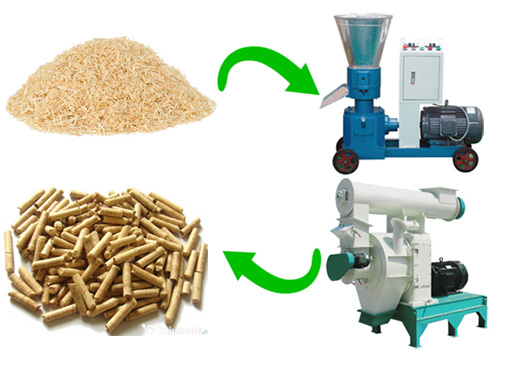 Biomass pellets and biomass pelletizing machine