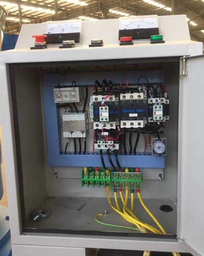 control bin of d type electric pellet mill
