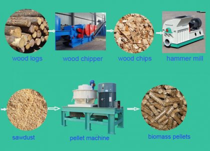 biomass pellet machine is gradually going to internationalization