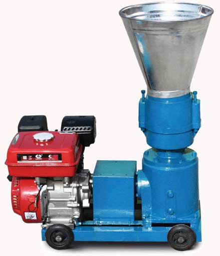gasoline engine pellet machine