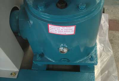 part of D type electric motor pellet mill