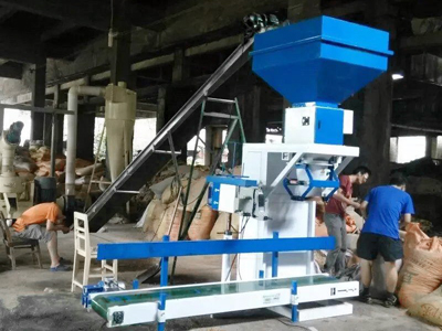 pellet packing machine process