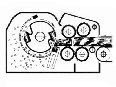 schematic diagram of drum chipper