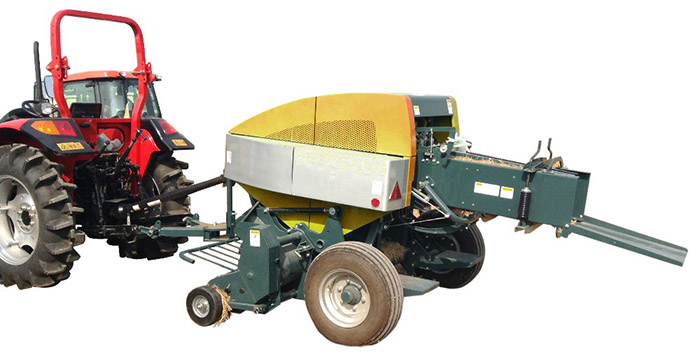 Square Baler in line