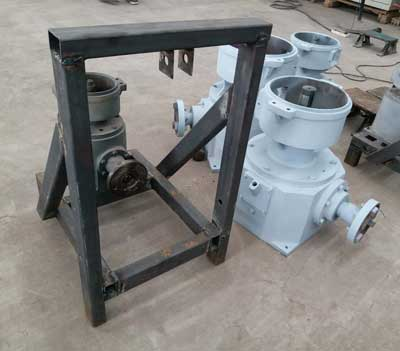 unfinished PTO pellet machine