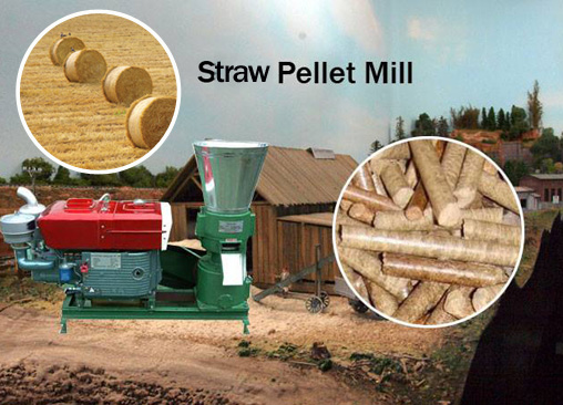 What is straw pellet machine like?